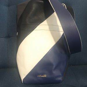 Diane Von Furstenberg leather purse